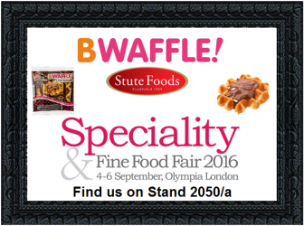 BWaffle at Speciality & Fine Food Fair 2016!