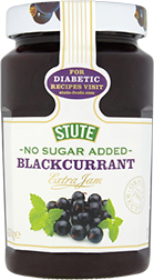 No Sugar Added Blackcurrant Jam