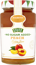 No Sugar Added Peach Jam