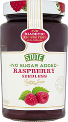 No Sugar Added Raspberry Seedless Jam