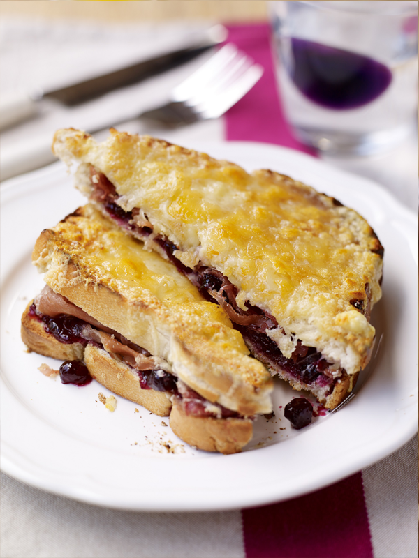Fruity Croque Monsieur